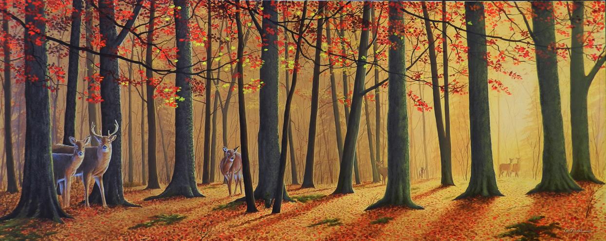 La forêt enchantée 20 x 60 VENDU