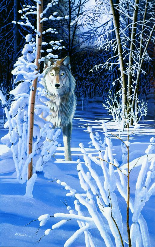 Le sentier de neige 12.5 x 20